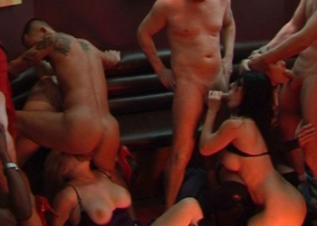 Orgy in the Wine Bar (ft. Alicia Rhodes and friends)